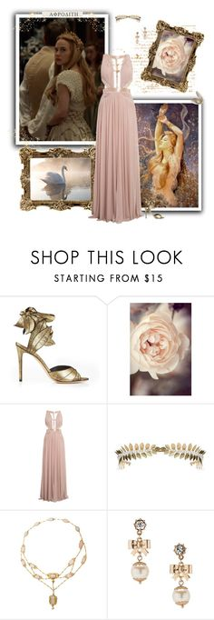 """Aphrodite"" by greerflower ❤ liked on Polyvore featuring Vivienne Westwood and Betsey Johnson"