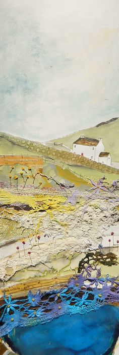''Up high on hill near meadow farm gate'' by Louise O'Hara