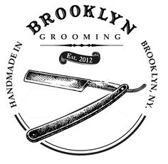 Brooklyn Grooming logo for t-shirts
