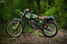 Vintage #SWM TL320 by Lorenzo Buratti - #CustomMotorcycle www.motorivista.com