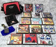 $399.99 or best offer Bundle Nintendo DS LITE, 15 games, Charger, Pokemon, Megaman, Kirby, and more!