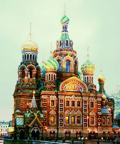 Church of the Saviour on Spilled Blood, St. Petersburg, Russia