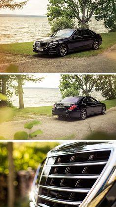 Perfect for a luxurious getaway: The Mercedes-Benz S-Class. Photo by Johannes Glöggler (www.johannesgloeggler.de) #MBsocialcar