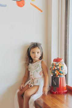 Evie playsuit - floral cotton voile