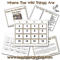 Where the Wild Things Are Trivia Game  (Free)
