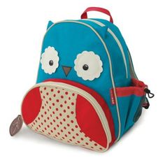 Kids' Backpacks - Skip Hop Zoo Pack Little Kid Toddler Backpack Otis Owl -- Be sure to check out this awesome product. Little Backpacks, Animal Backpacks, Cute Backpacks, School Backpacks, Owl Backpack, Toddler Backpack, Preschool Backpack, Mochila Skip Hop, Skip Hop Zoo