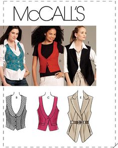 McCall's 5887  sewing pattern