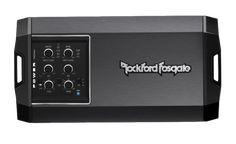 The Power T400X4ad is an ultra-compact, high efficiency 400 Watt 4-channel amplifier. Features multi-impedance Constant Power, input/output clip detection, top mounted controls and dual fan forced induction cooling. Perfect for hybrid, electric, small cars, trucks, motorcycles, and side-by-side UTVs.