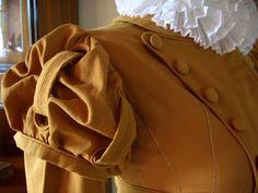 Kleidung um 1800: 1815 LACMA Spencer oder: eine Studie in Whiskybraun
