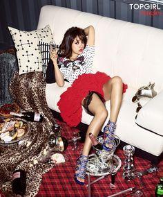 Lee Hyori Singles Korea Magazine May Issue '11
