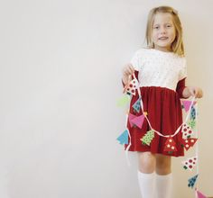 NEW Holiday Collection! Peppermint Lane Kimono Dress
