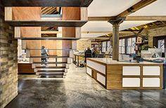 Stoer kantoor van creatief bureau MAD | Inrichting-huis.com