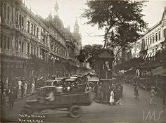 Augusto Malta. Avenida Rio Branco, Centro, 1925. Rio de Janeiro. Brasiliana Fotográfica
