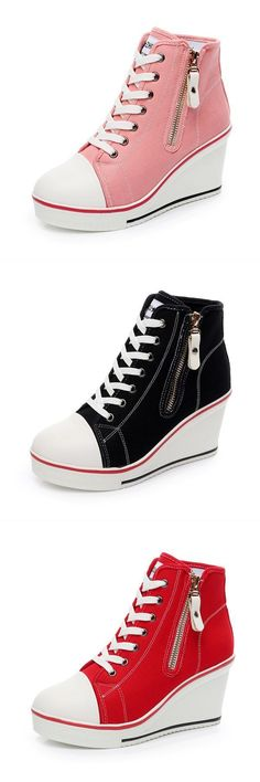 Casual shoes under 2000 big size lace up canvas shoes zipper high heels platform shoes #casual #shoes #boy #casual #shoes #under #400 #mamp;s #ladies #casual #shoes #sims #3 #casual #shoes