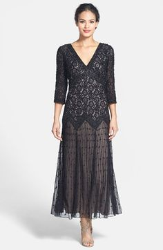 30s style black dress