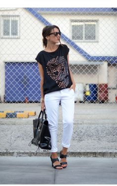 This is Alexandra Per's buyer show in OurMall;  #TOP #PANT #Sandal #SUNGLASS please click the picture for detail. http://ourmall.com/?mYfyqi