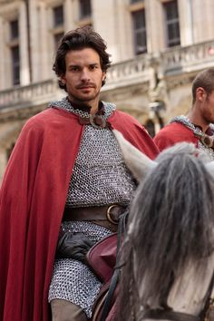 Sir Lancelot, the bravest and most noble of them all. (Also, honestly, I just love Santiago Cabrera, as I rediscovered him via The Musketeers, which isn't exactly faithful to the books, but is a fabulous watch... and not just because the titular characters are quite attractive XD)