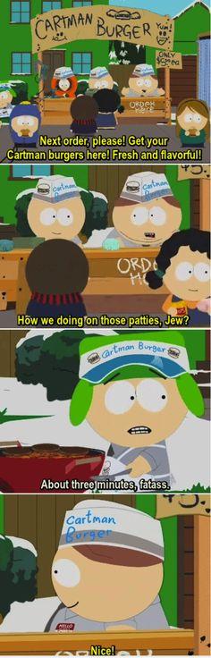 South Park Cartman Kyle
