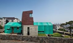 Fasada-form-x-tower-dom-dom-x-by-on-architektura-Gimhae Korea-du-Sud