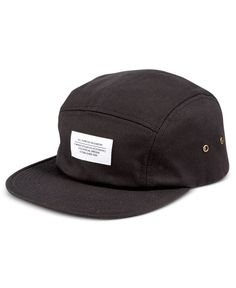 WeSC Men's Solid 5-Panel Hat