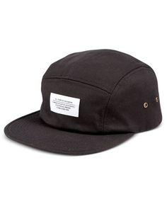 WeSC Men's Solid 5-Panel Hat