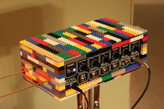 Lego Theremin - So good! It has a PAiA Model inside. :-)