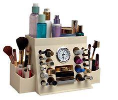 Amazoncom Songmics Acrylic Makeup Organizer Cosmetic Storage