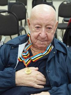 Local Veteran receives medal from South Korea