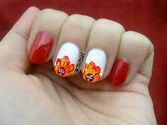 Turkey nail art