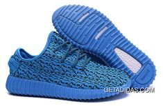 b1bf1ae37beb Mens Adidas Yeezy Boost 350 Shoes Blue TopDeals