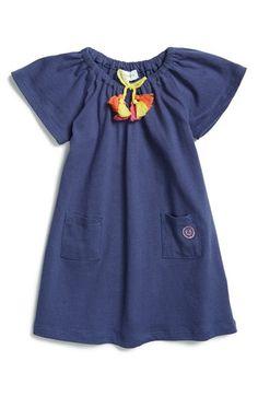 Infant Girl's Margherita Tassel Trim Jersey Dress