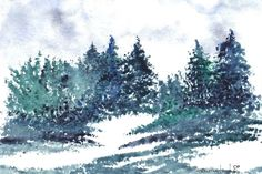 Blue, Green, Gray and White by Terry Sutherland