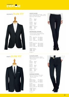 Hoxton Jacket, Whitechapel Trouser, Aldgate Jacket and Edgware Trouser. #workuniformsdirect #uniform #corporate #business #fashion