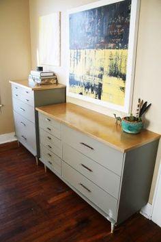 Austin: Mid Century Modern Dresser Set $950 - http://furnishlyst.com/listings/39739