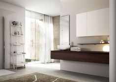 Rendering fotorealistici bagni moderni Cubik by Idea Group
