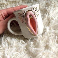 Vagina cups vulva mug pottery ceramic vagina h.d ceramics