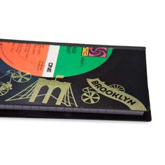 Brooklyn Pocket World: Vinyl Hand Crafted Pocketbook - For Kids