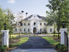 Chateau House Plan with 5235 Square Feet and 4 Bedrooms from Dream Home Source | House Plan Code DHSW42535