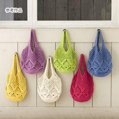 Inspiration: Pineapple Paettern Bags