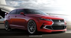 Carscoops: Future Cars: Mitsubishi's Next Hot Lancer XI EVO-l...