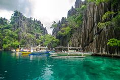 Twin Lagoon, Philippines Oh The Places You'll Go, Places To Travel, Places To Visit, Travel Destinations, Fort Santiago, Philippines Tourism, Coron Island, Exotic Beaches, Paisajes