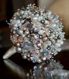 Broch bouquet by crystal dreamz