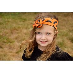 Halloween Handmade Headwraps! This beauty is the perfect model! Get yours at Olive Branch Creations(https://instagram.com/olive_branch_creations/)