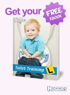 The guide is full of practical and helpful ideas and tips to support you and your child through the toilet training process. Plus all your toilet training FAQs answered!