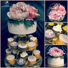 Cake cupcake special birthday rose pizzo