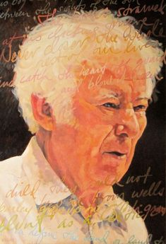 Seamus Heaney by Barrie Maguire