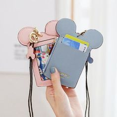 Hot-sale Women Cute Animal Shape Card Holder Wallet Purse Neck Bag - NewChic Mobile