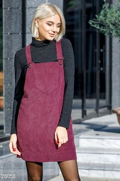 Winter Fashion Outfits, Teen Fashion, Fashion Dresses, Womens Fashion, Sporty Outfits, Kids Outfits, Cute Outfits, One Piece Outfit, Pinafore Dress