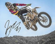 Jason Anderson, Supercross, Motocross, Signed, Autographed, 8X10 Photo, a COA with the Proof Photo of Jason Signing Will Be Included-