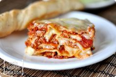"Classic Italian Lasagna. The recipe claims it's the best! I am always looking for ""that"" lasagna recipes. It sounds like a winner!"